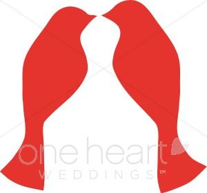 300x279 Love Birds Clip Art Wedding Bird And Butterfly Clipart