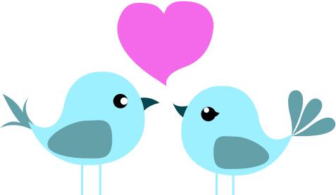 477x278 Love Birds Clip Art Wedding