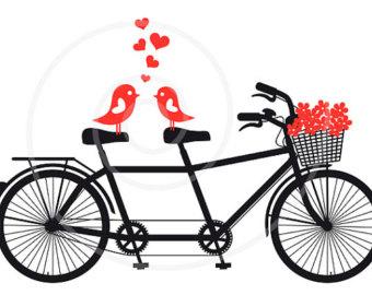340x270 Pushbike Clipart Love Bird