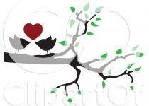210x150 Clip Art Clip Art Love Birds