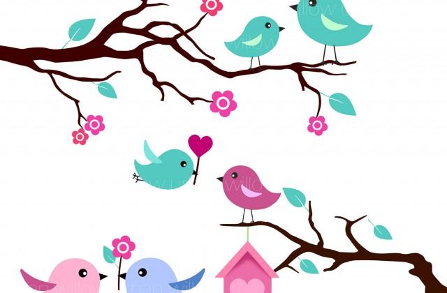 640x420 Cute Bird Clip Art Cliparts Co Love Birds Clipart