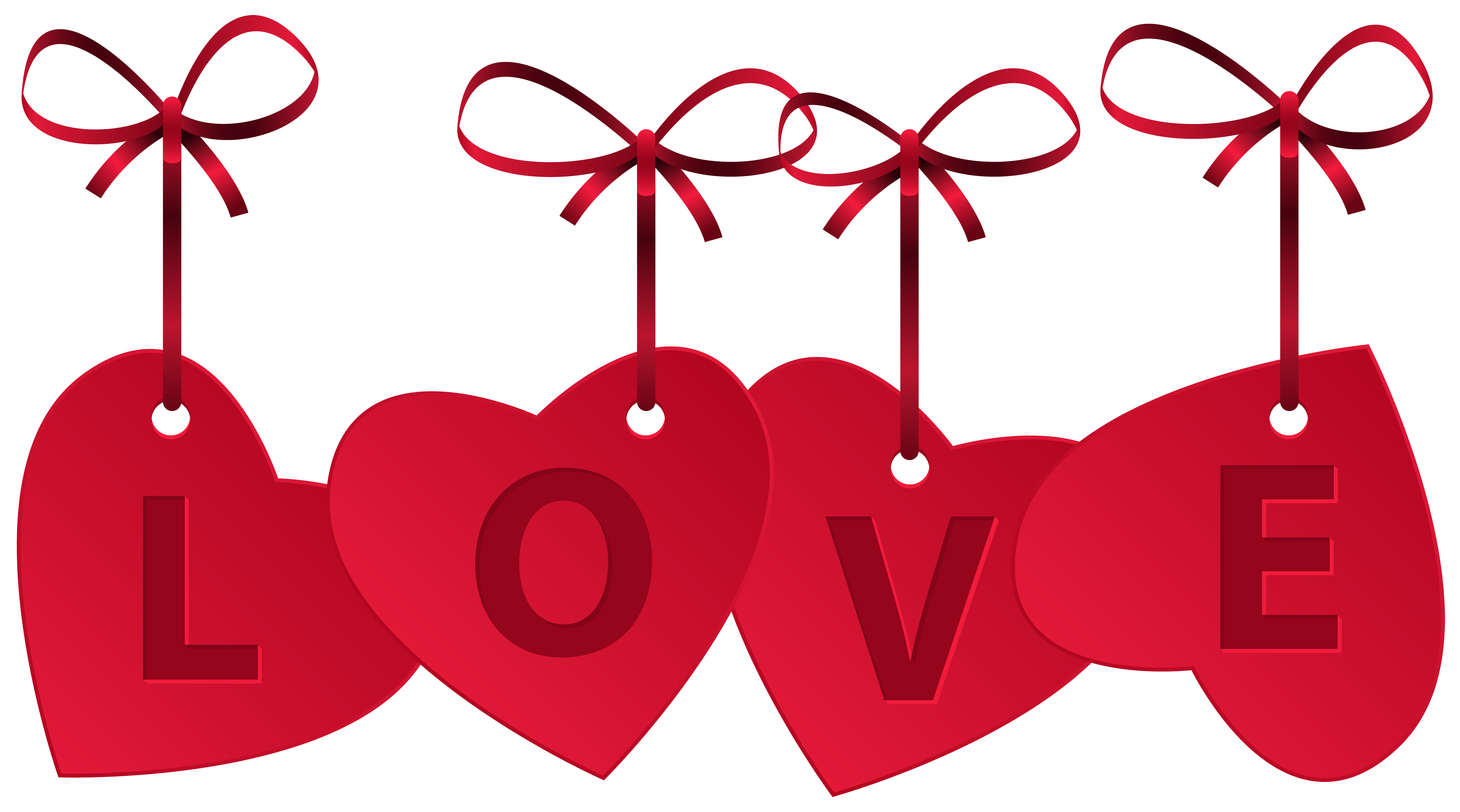 8000x4451 Hearts With Love Decoration Png Clip Art Imageu200b Gallery