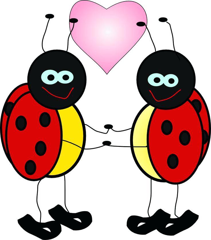 736x837 Ladybug Clip Art Free Joyful Ladybug Ladybug Background Clipart