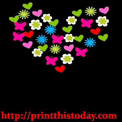 417x417 Love Tree Clip Art