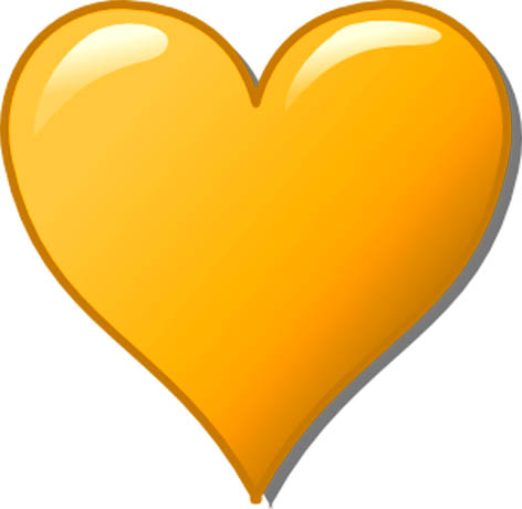 472x460 Love Clipart Loveheart