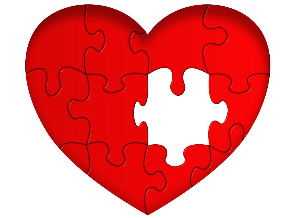 1024x758 Love One Another Heart Puzzle With Missing Piece I You By Coloring