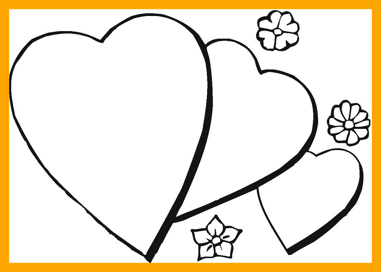 Love Heart Colouring Pages at GetDrawings.com | Free for personal ...