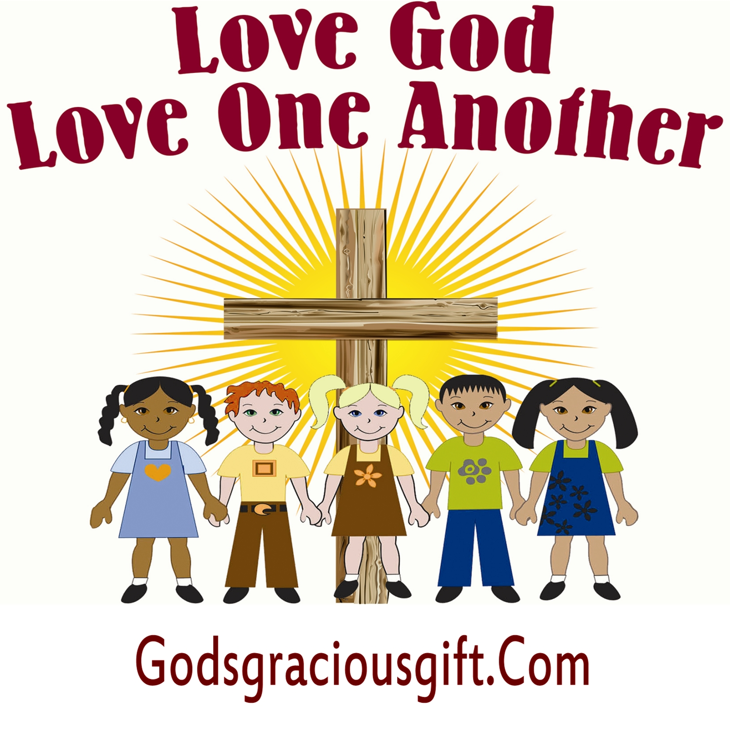 1500x1500 Love God Love One Another Filled With Truth ~ Speak The Truth