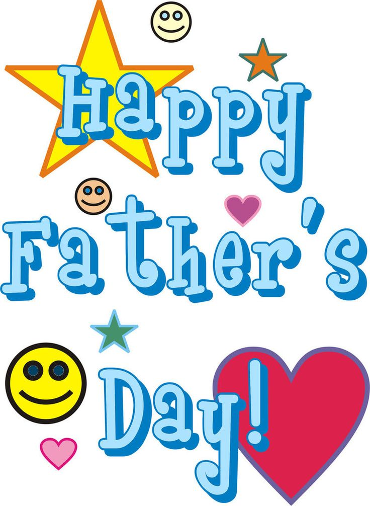 736x1006 82 Best Fathers Day Clip Art Images On Father's Day