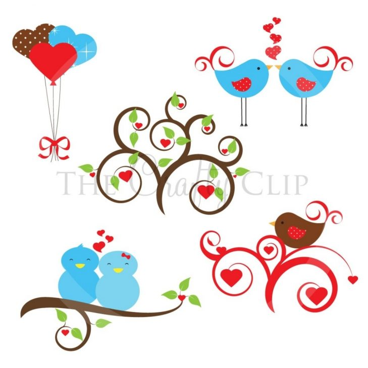 729x729 Vintage Clipart Love Bird Pencil And Color Vintage Clipart