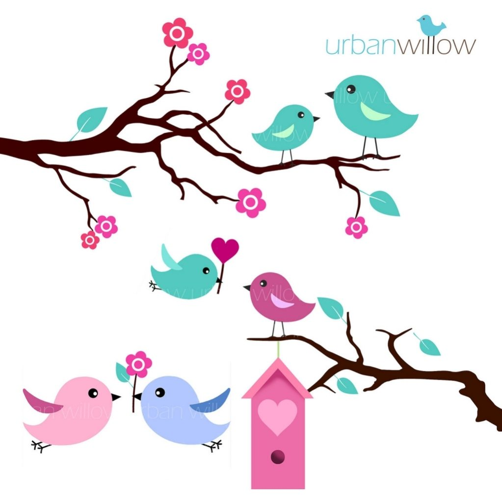 1023x1023 Vintage Love Bird Clipart Regarding Vintage Love Bird Clip Art