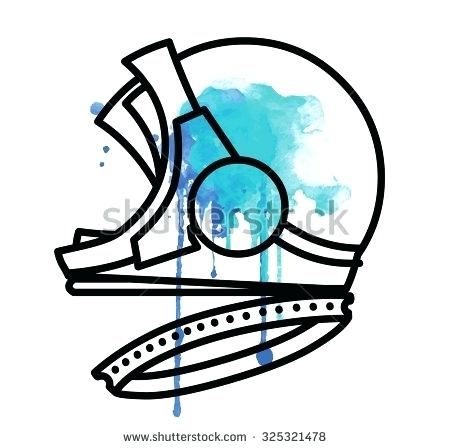 450x448 Space Helmet Clip Art Astronaut Spacesuit Helmet Outline Vector
