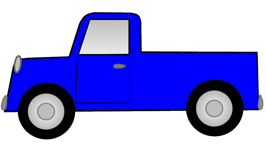 890x492 Back Of Pickup Truck Clipart