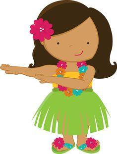 236x311 Luau On Hula Girls Hawaiian Girls And Luau Party Clip Art