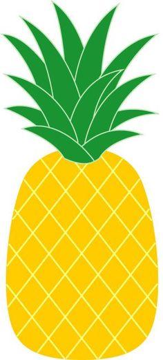 236x521 Pineapple Clipart Free Clip Art Hair Image