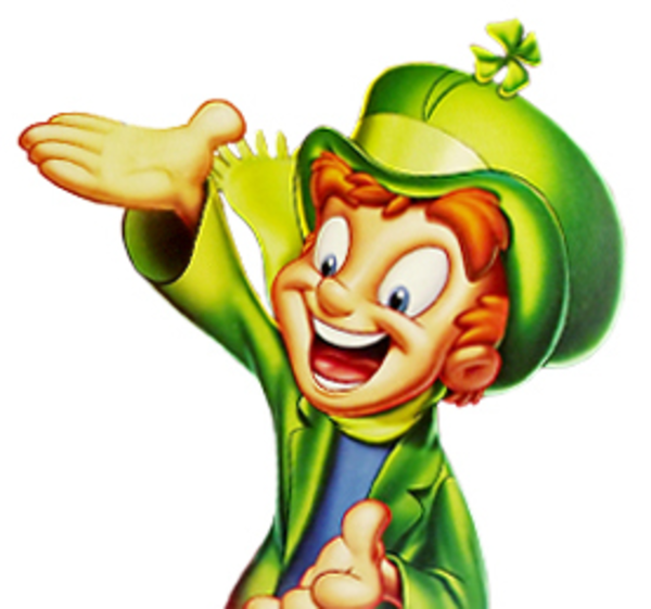 600x561 Clipart Lucky Charm Free Images