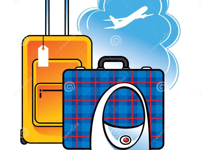 640x480 Luggage Clipart