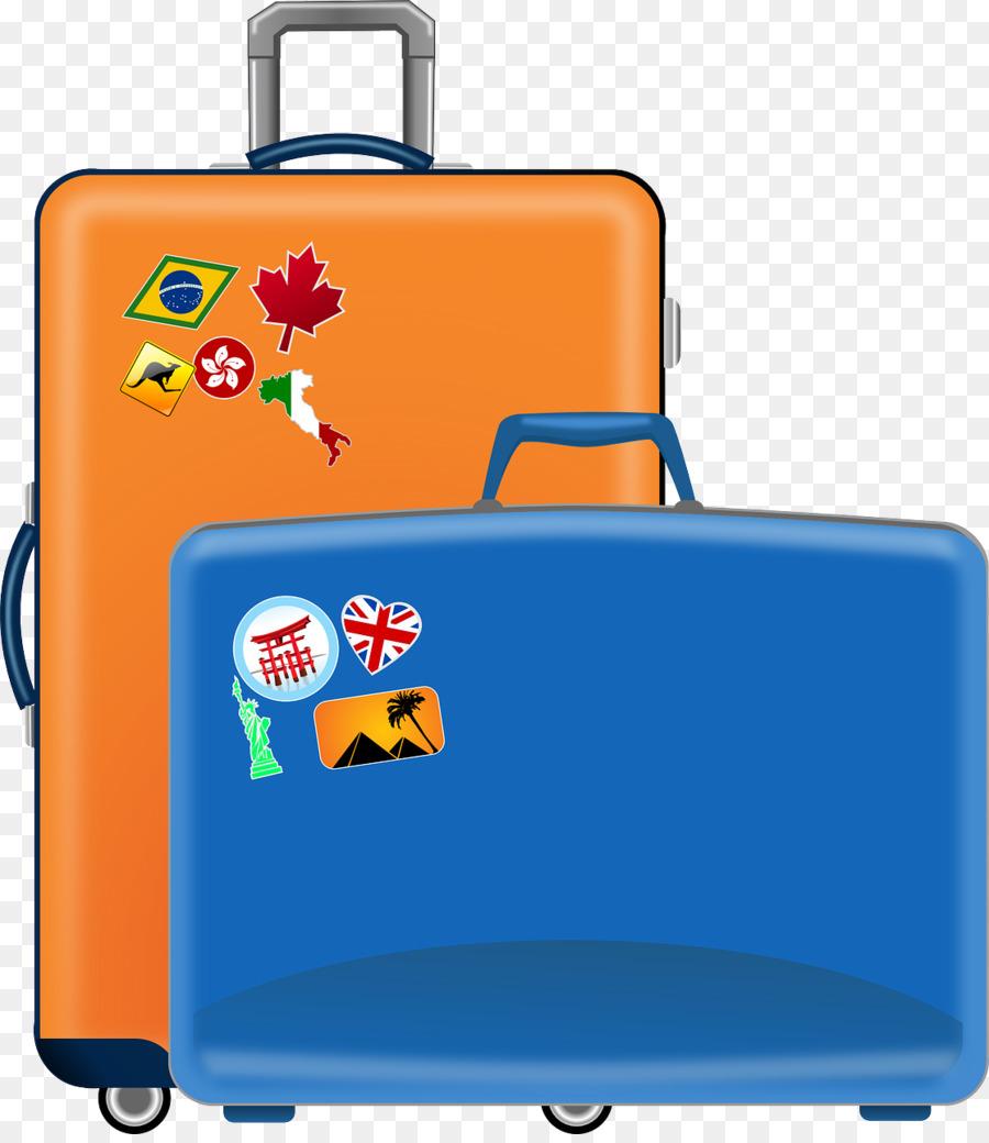 900x1040 Suitcase Baggage Travel Clip Art