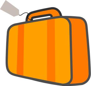 292x275 Travel Suitcase Clip Art Clipart Panda