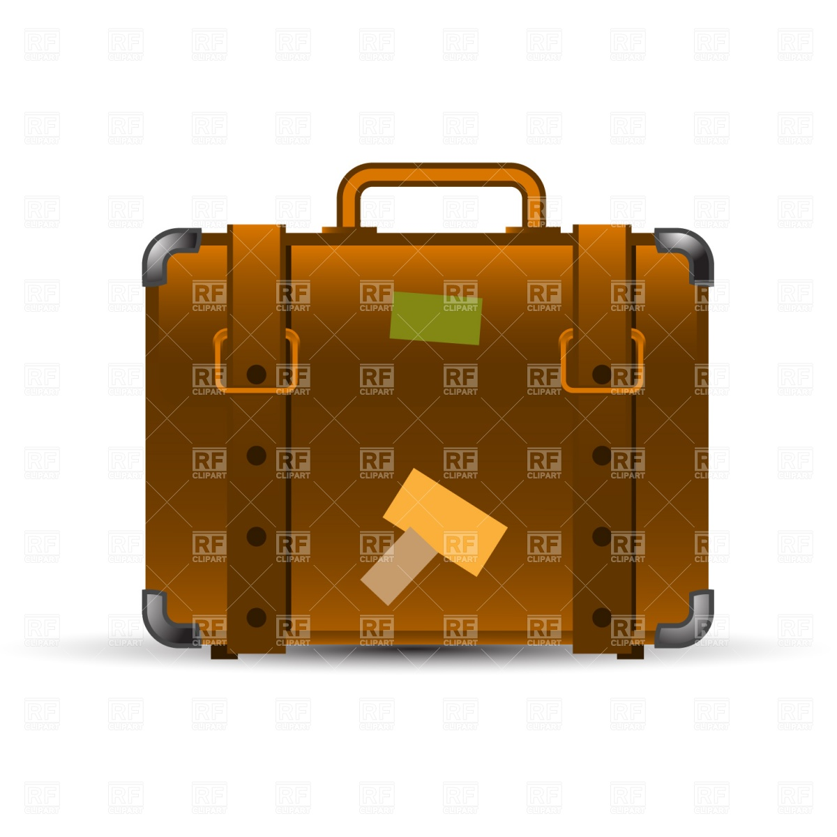 1200x1200 Travel Suitcase Royalty Free Vector Clip Art Image