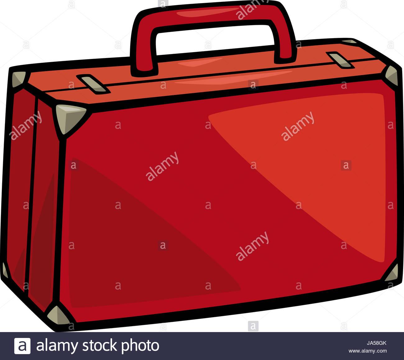 1300x1160 Cartoon Illustration Of Suitcase Clip Art Stock Photo 143946003