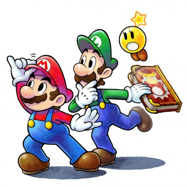 656x656 Mario Amp Luigi Paper Jam Artwork