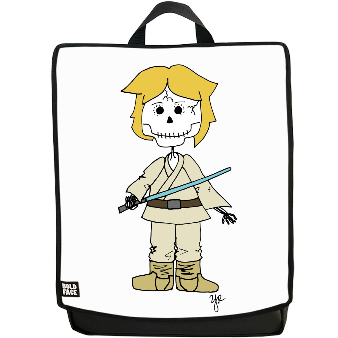 1160x1160 Luke Skywalker Day Of The Dead Backpack With Interchangeable Face