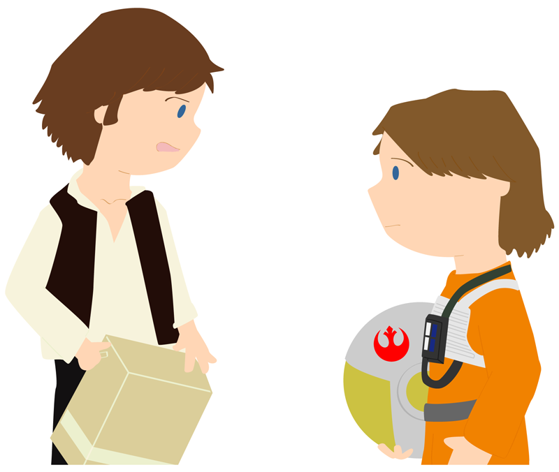 800x676 Luke Skywalker And Han Solo By Whosname