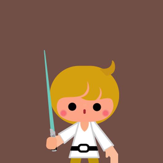 530x530 Luke Skywalker