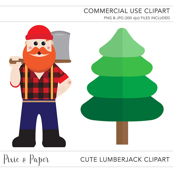 570x570 Commercial Use Clipart, Commercial Use Clip Art, Lumberjack