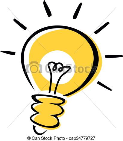 411x470 Light Bulb Idea Clip Art Vector And Illustration. 45,091 Light