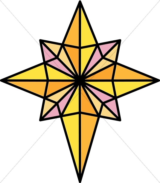535x612 Bright Clipart Star Bethlehem