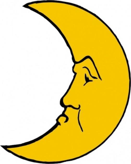 502x626 Luna Clipart