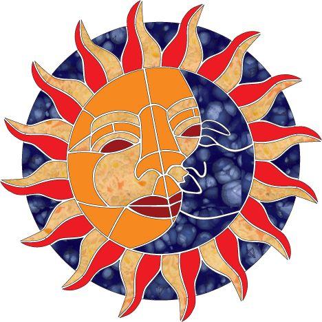 468x468 Lunar Clipart Afternoon Sun