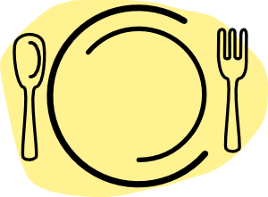300x221 Lunch Menu Clipart
