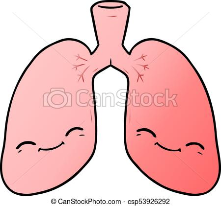 450x421 Cartoon Lungs.