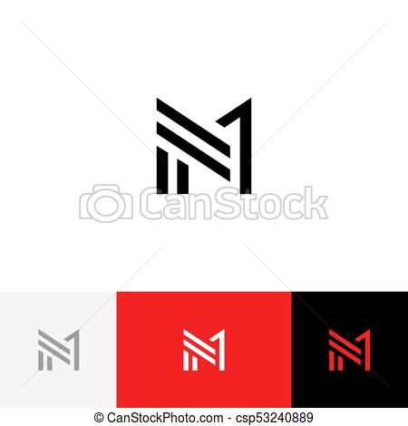 450x470 M 1 Vector Logo. Logotype, Icon, Symbol, Sign From Letters M