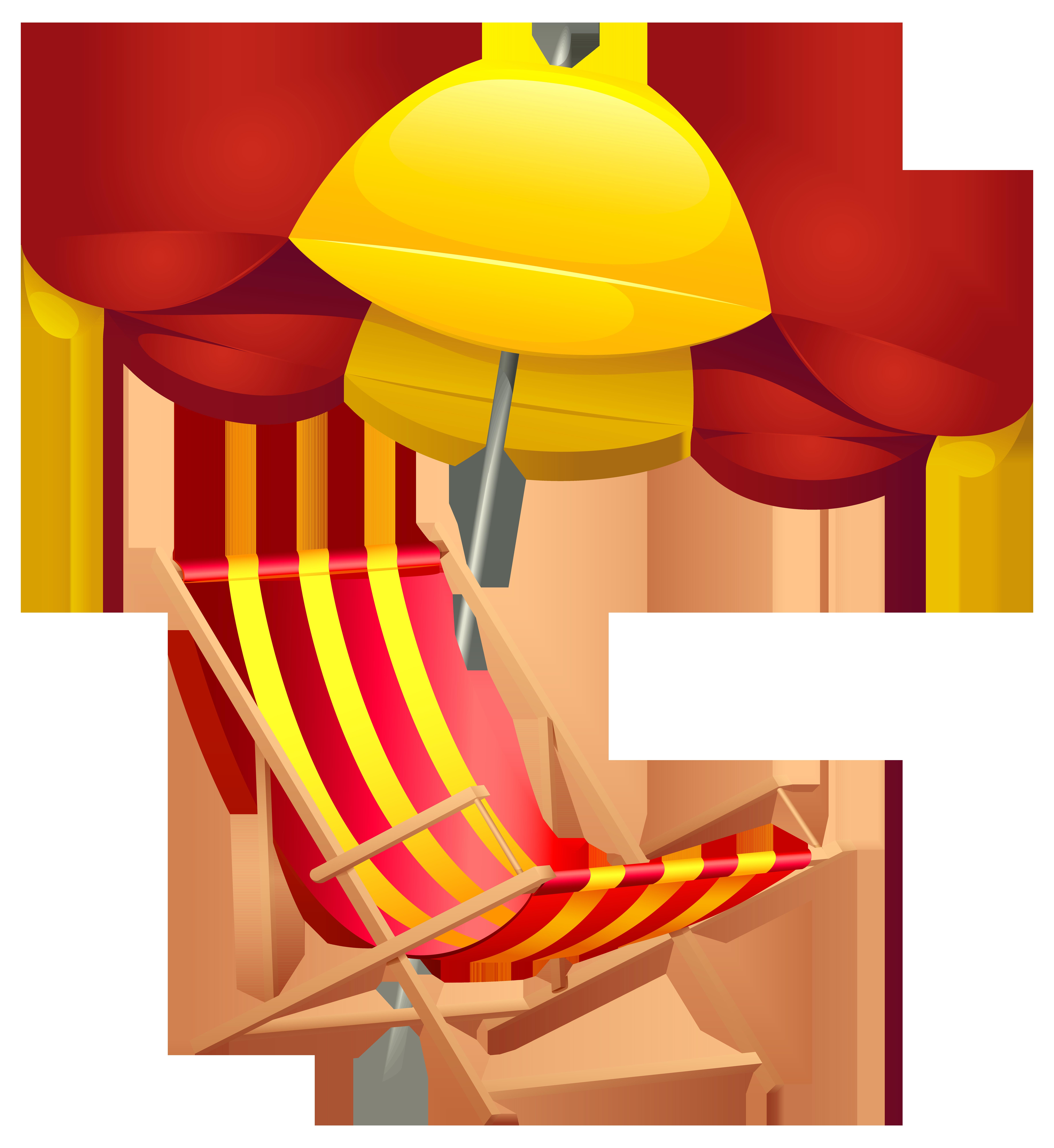 7344x8000 Beach Chair And Umbrella Png Clip Art Imageu200b Gallery