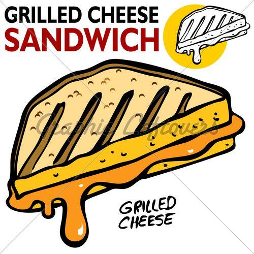 500x500 Grilled Cheese Sandwich Clipart Clipart Panda