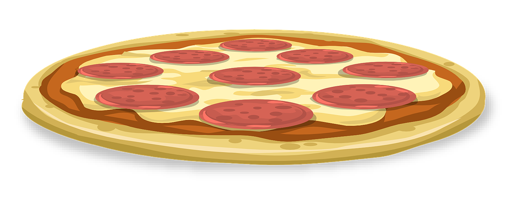 1065x406 Whole Cheese Pizza Clipart