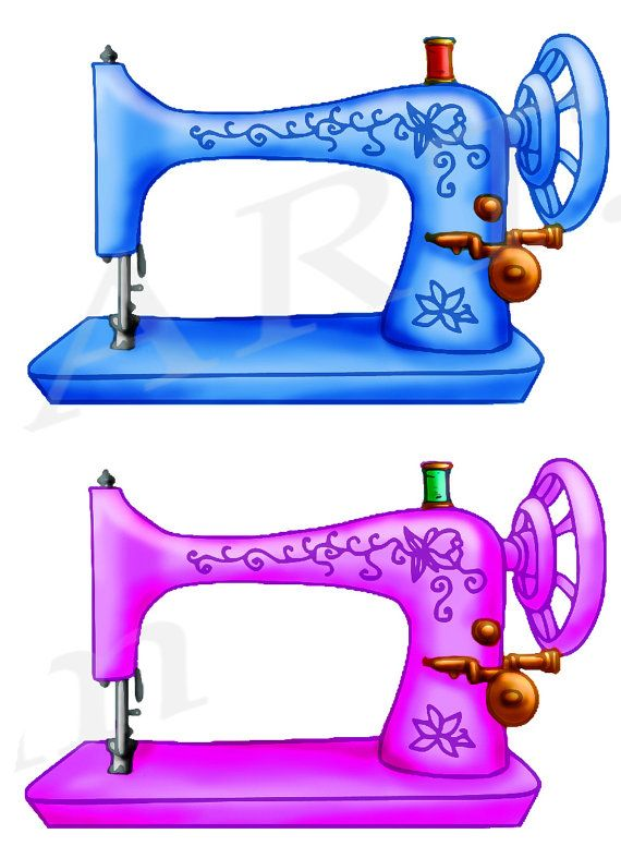 570x776 Sewing Machine Clipart, Sewing Machine Clip Art, Vintage Sewing