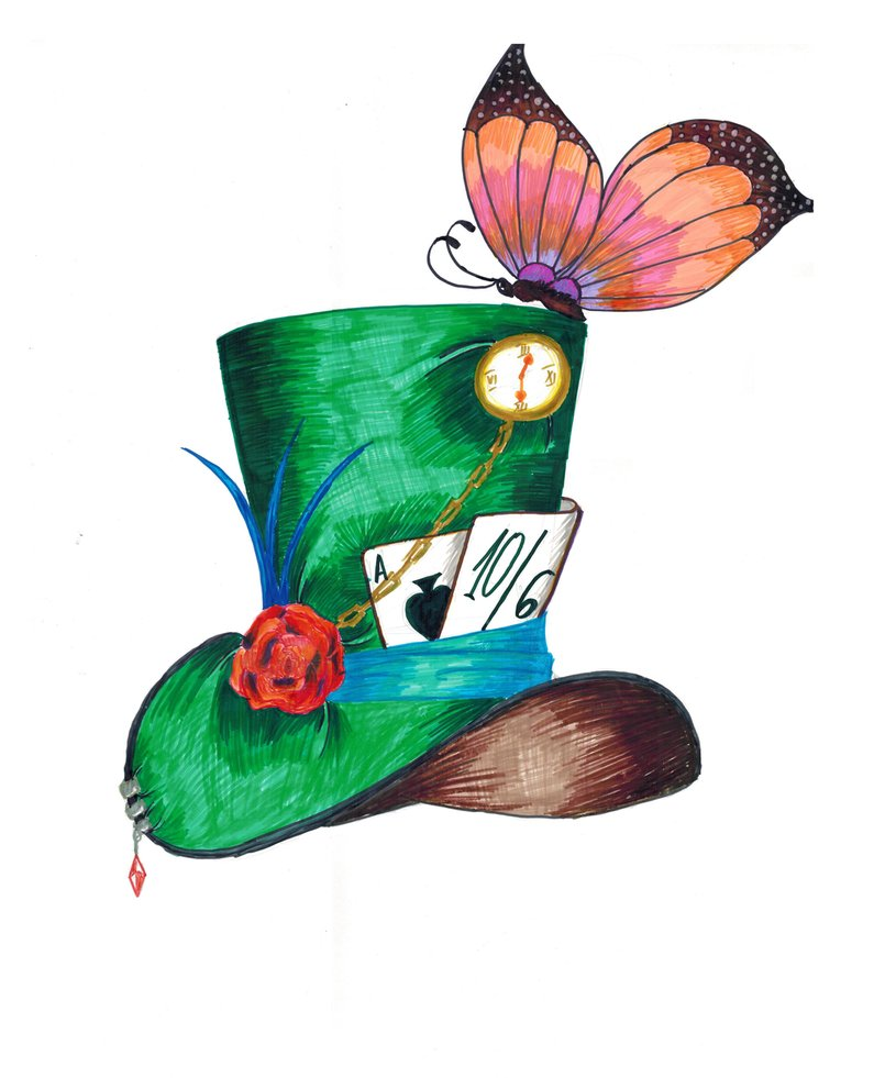 815x981 Mad Hatter's Hat By Daniel