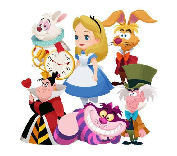 570x503 Alice In Wonderland Clipart Alice Alice And Crafts
