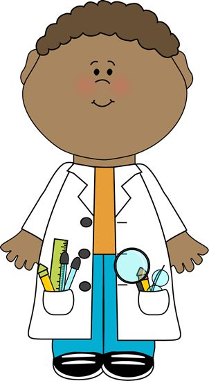 Mad Scientist Clipart