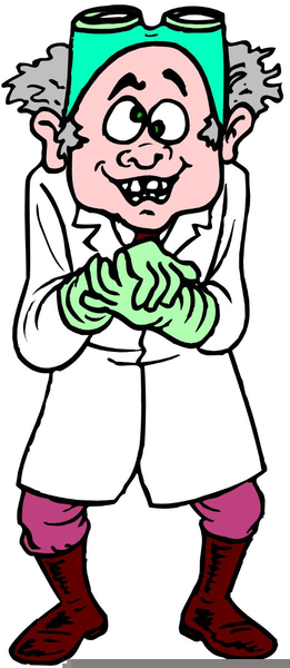 261x600 Mad Scientist Clipart Free Images
