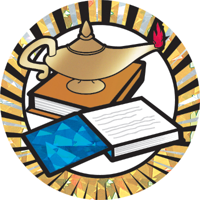 400x400 Lamp Of Knowledge Clipart