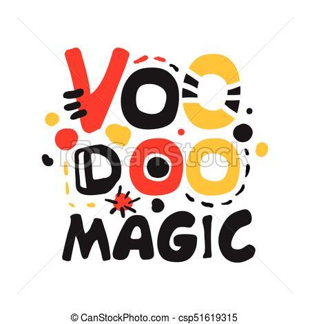 450x470 Voodoo African American Magic Logo. Voodoo African