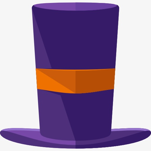 512x512 A Purple Hat, Magic Hat, Hat, Cartoon Png Image And Clipart