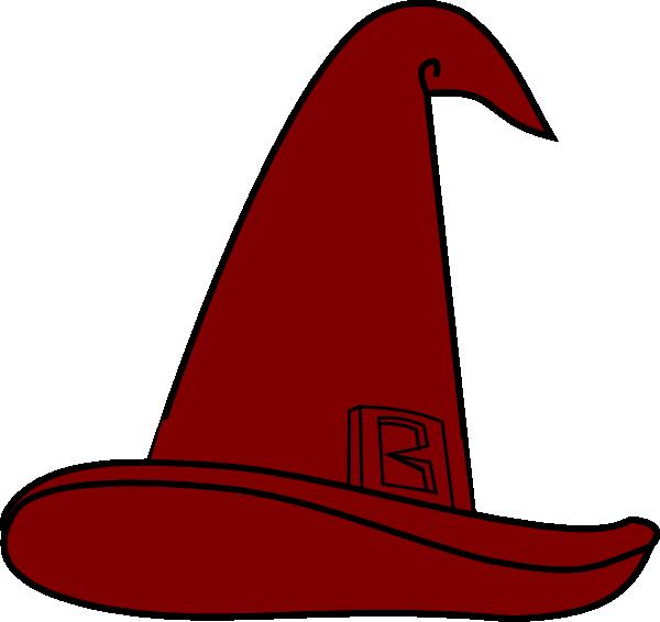 600x566 Wizard Hat Brown Clip Art