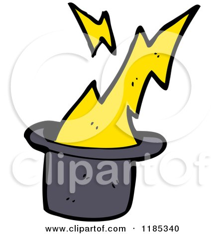 450x470 Cartoon Of A Magic Hat